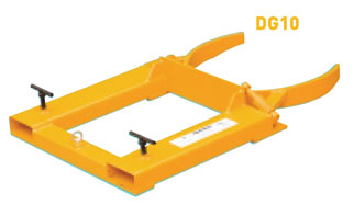 WARRIOR Automatic Drum Clamps for Fork Lift Trucks (DG10)