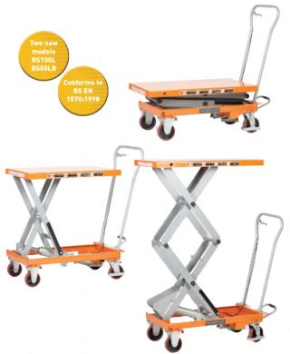 WARRIOR Manual Operated Mobile Lift Tables (BS75)